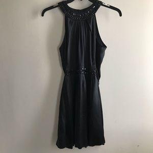BCBG MaxAzria Black silk dress